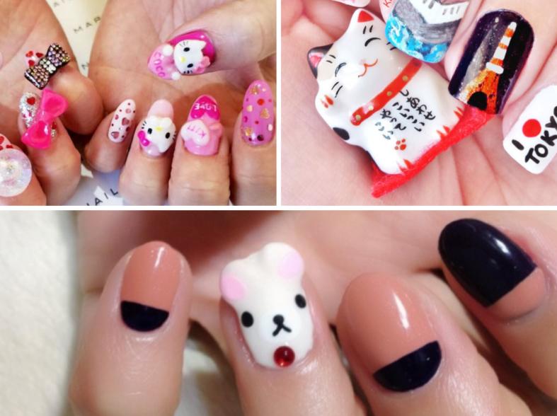 nail art giapponese